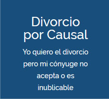 divorcio por causal